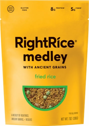 RightRice Ancient Grains Fried Rice Medley Perspective: front