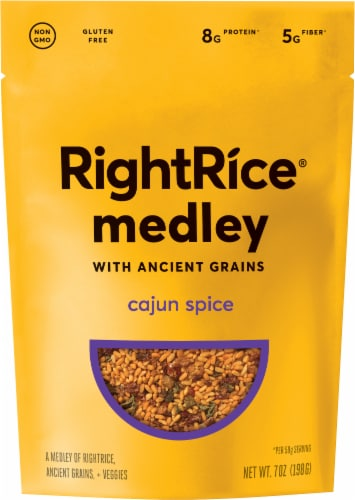 RightRice Ancient Grains Cajun Spice Medley Perspective: front