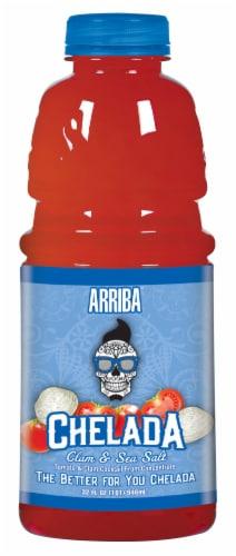 Arriba Chelada Clam & Sea Salt Tomato Juice Blend Perspective: front