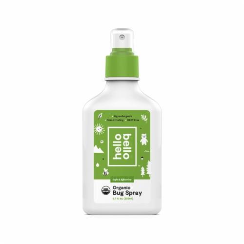 Hello Bello Organic Bug Spray Perspective: front