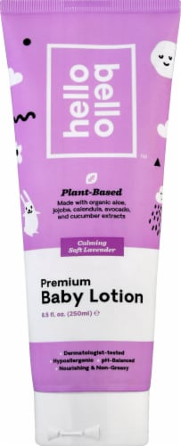 Hello Bello Lavender Baby Lotion Perspective: front