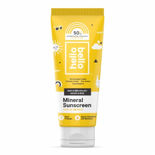 Hello Bello™ Mineral Sunscreen Lotion SPF 50 Perspective: front