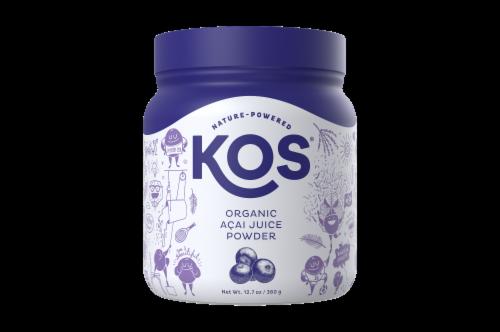 KOS Organic Acai Juice Powder Perspective: front