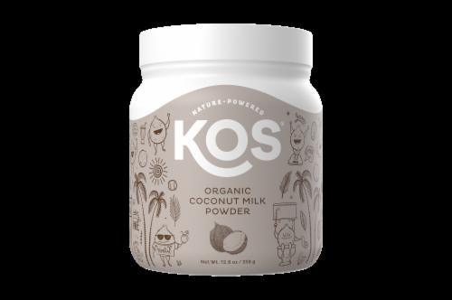 KOS Organic Coconut Milk Powder Perspective: front