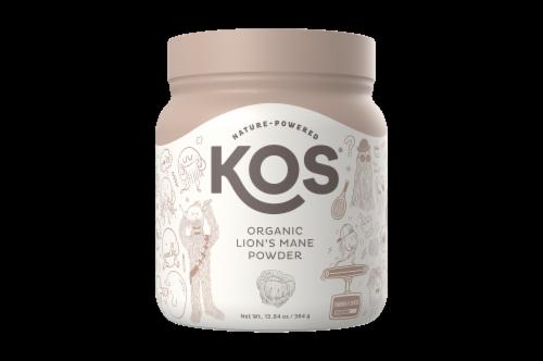 KOS Organic Lion's Mane Powder Perspective: front