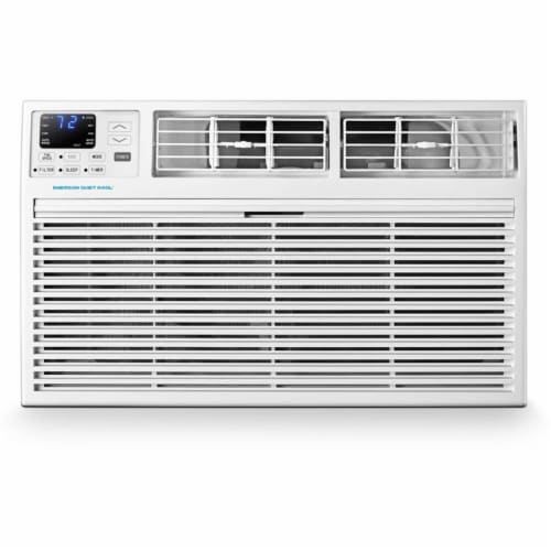 Emerson EATE12RD2T 230V 12000 Wall 10600 BTU Air Conditioner, White Perspective: front