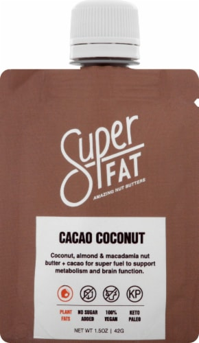 SuperFat Cacao Coconut Perspective: front