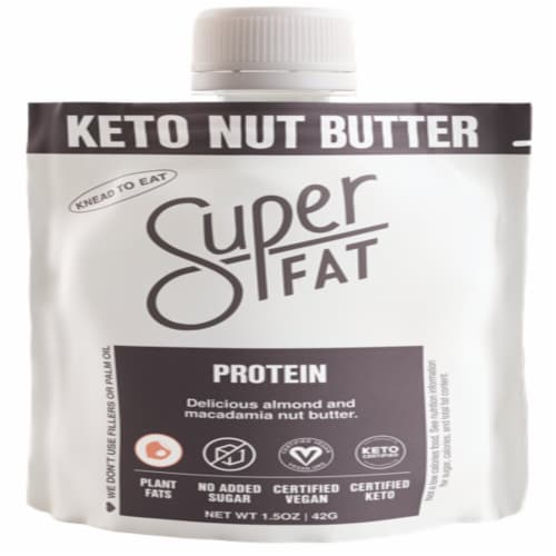 SuperFat Protein Keto Nut Butter Perspective: front