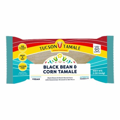 Tucson Tamale Black Bean & Corn Tamale Perspective: front
