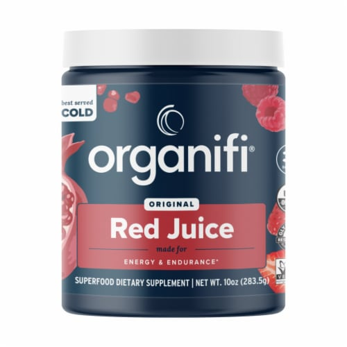 Organifi Original Red Juice Superfood Dietary Supplement Perspective: front