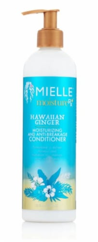 Mielle Organics Moisture RX Hawaiian Ginger Moisturizing and Anti-Breakage Conditioner Perspective: front