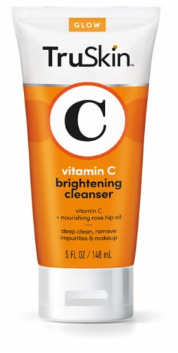TruSkin Vitamin C Brightening Cleanser for Face Perspective: front