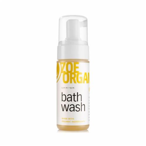 Zoe Organics  Bath Wash Perspective: front