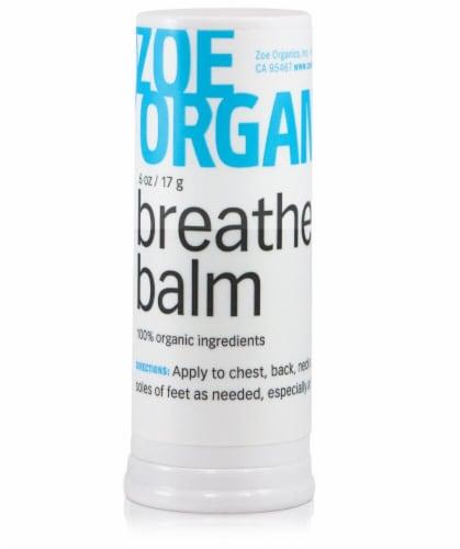 Zoe Organics  Breathe Balm Perspective: front