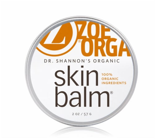 Zoe Organics  Dr. Shannon's Organic Skin Balm Perspective: front