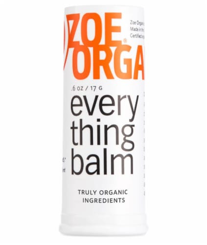 Zoe Organics  Everything Balm Perspective: front