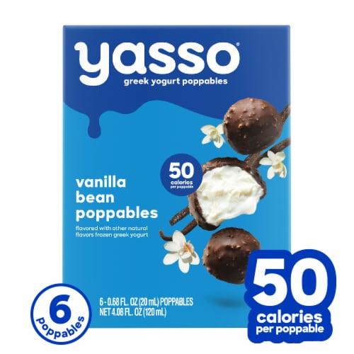 Yasso Poppables Vanilla Bean Frozen Greek Yogurt Bites Perspective: front