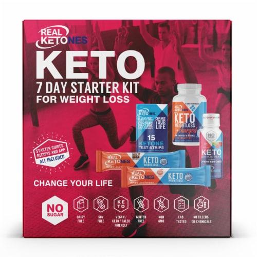 RK Foods Real Ketones Keto Starter Kit Perspective: front