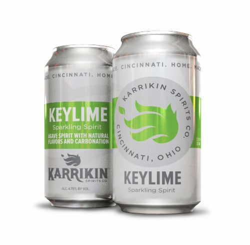Karrikin Spirits Keylime Sparkling Spirit Perspective: front