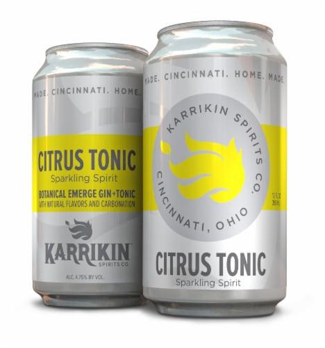 Karrikin Spirits Citrus Tonic Sparkling Spirit Perspective: front