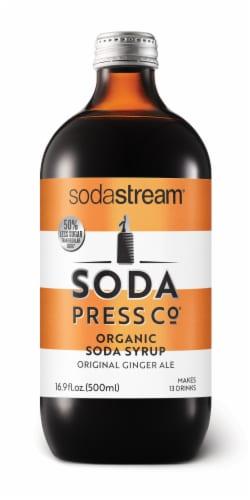 SodaStream Soda Press Original Ginger Ale Organic Soda Syrup Perspective: front