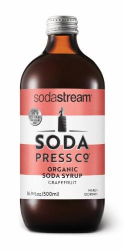 SodaStream Soda Press Grapefruit Organic Soda Syrup Perspective: front