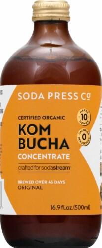 SodaStream Soda Press Organic Original Kombucha Concentrate Perspective: front