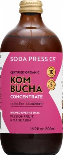SodaStream Soda Press Organic Passionfruit & Mandarin Kombucha Concentrate Perspective: front
