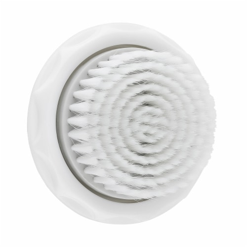 Spa Sciences Nova Antimicrobial Soft Sensitive Replacement Brush Head Perspective: front