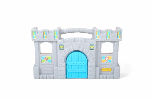Simplay3 Carry & Go Castle Playset Perspective: front