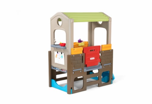Simplay3 Young Explorers Indoor Outdoor Discover Playhouse Perspective: front