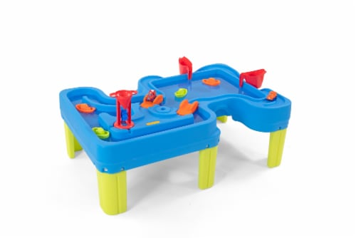 Simplay3 Big Rivers & Roads Water Play Table Perspective: front