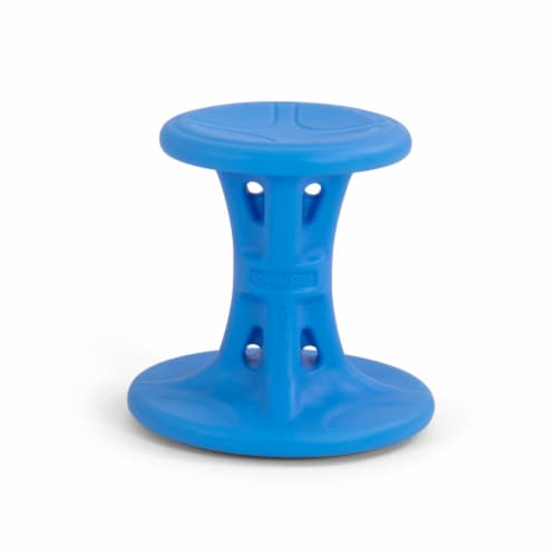 Simplay3 Big Wiggle Chair - Blue Perspective: front