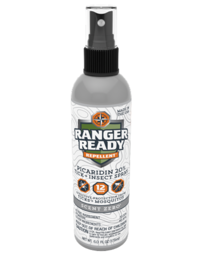 Ranger Ready Tick and Insect Repellant Spray Perspective: front
