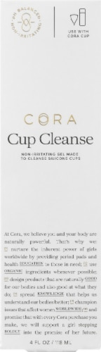 Cora PH Balanced Cup Cleanser Perspective: front