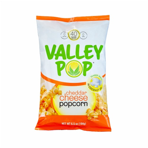Valley Popcorn - Cheddar Cheese Perspective: front