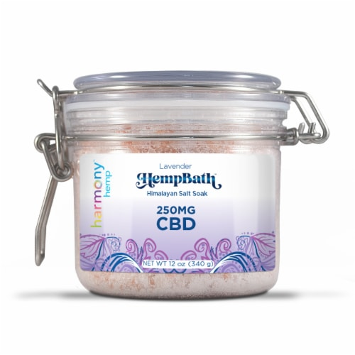 Harmony™ Hemp HempBath™ Himalayan Bath Salt 250 mg Perspective: front
