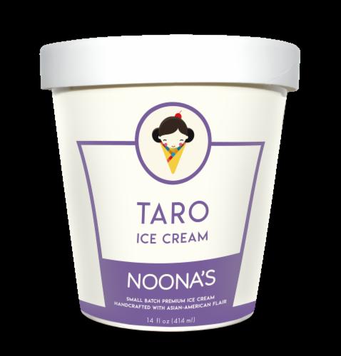 Noona's Taro Ice Cream - 5 pints Perspective: front