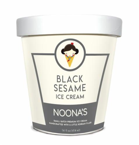 Noona's Black Sesame Ice Cream - 5 pints Perspective: front