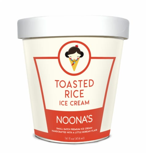 Noona's Toasted Rice Ice Cream - 5 pints Perspective: front