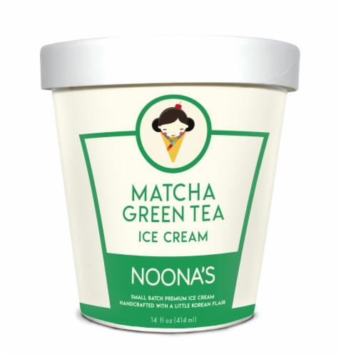 Noona's Matcha Green Tea Ice Cream - 5 pints Perspective: front
