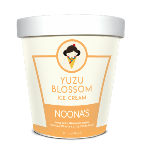 Noona's Yuzu Blossom Ice Cream - 5 pints Perspective: front