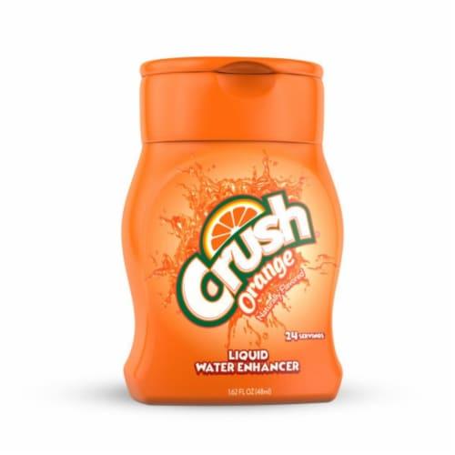 Crush Orange Liquid Water Enhancer Perspective: front