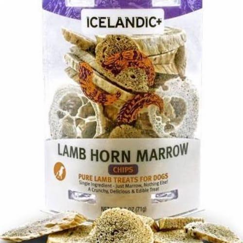 Icelandic 10082953 4 oz Dog Lamb Marrow Chip Perspective: front
