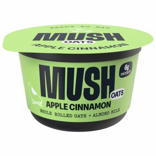MUSH Apple Cinnamon Overnight Oats Perspective: front