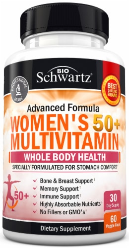 BioSchwartz Women 50+ Multivitamin Capsules Perspective: front