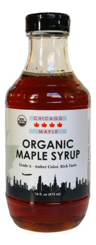 Mackinac Bluffs Maple Farms Chicago Maple Organic Maple Syrup Perspective: front