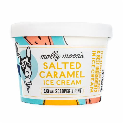 Molly Moon's Salted Caramel Ice Cream Perspective: front