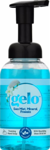 Gelo Sea Mist Mineral & Freesia Foaming Hand Soap Perspective: front