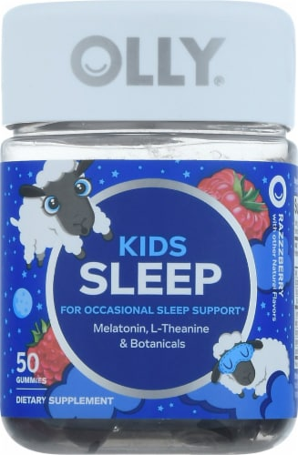 Olly Kids Sleep Gummies Perspective: front